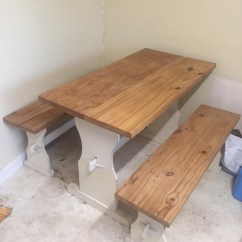 Pine Kitchen Bench Island Bar Lights Solid Table For Sale In Near Yeovil Someset