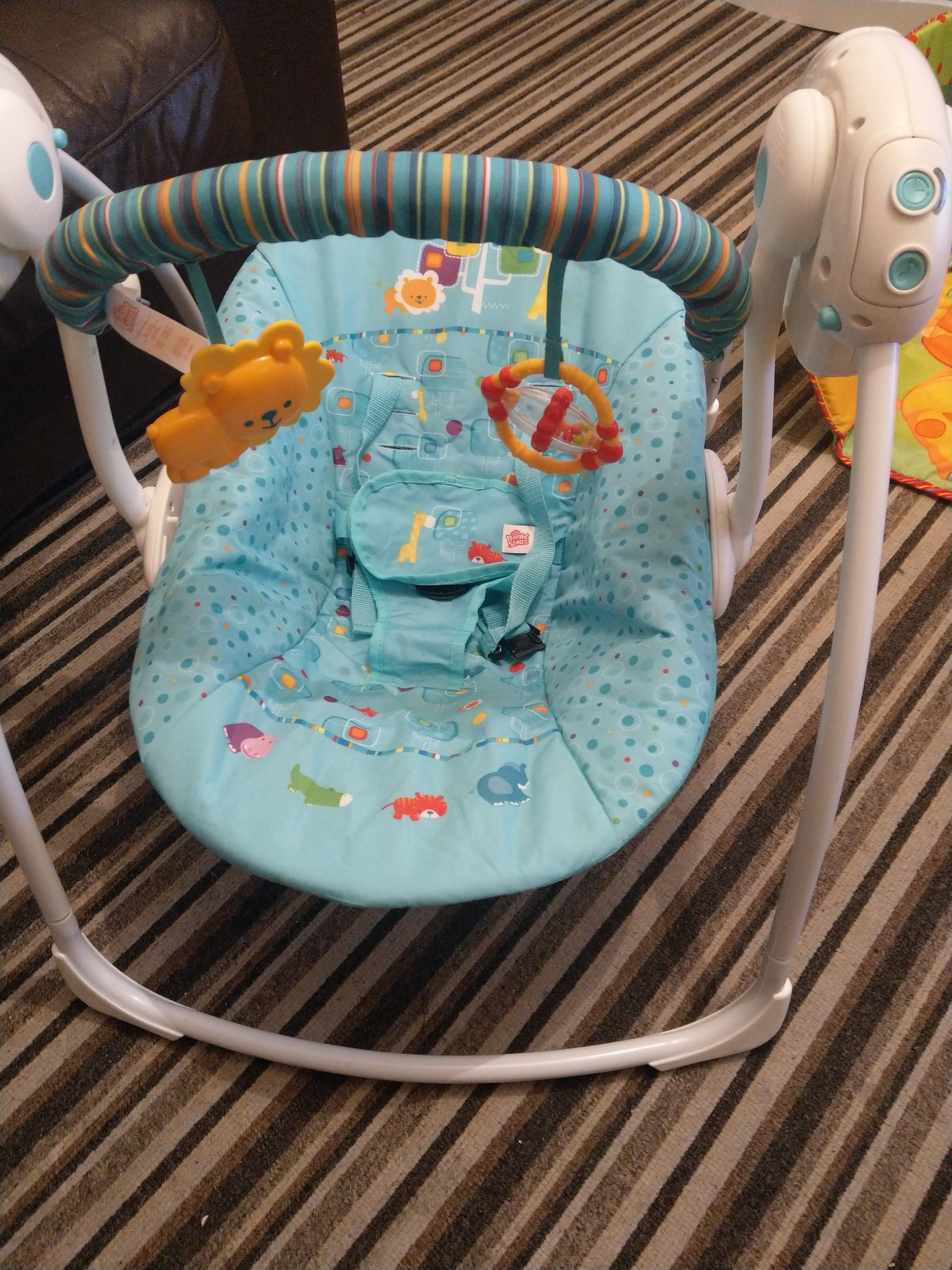 swing chair local lazy boy rocker recliner swivel chairs baby classifieds preloved