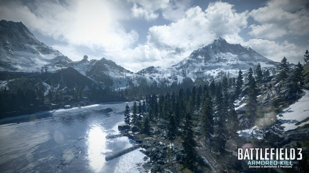 Battlefield 3: Armored Kill Alborz Mountains Flythrough Video, Best Looking Map Yet
