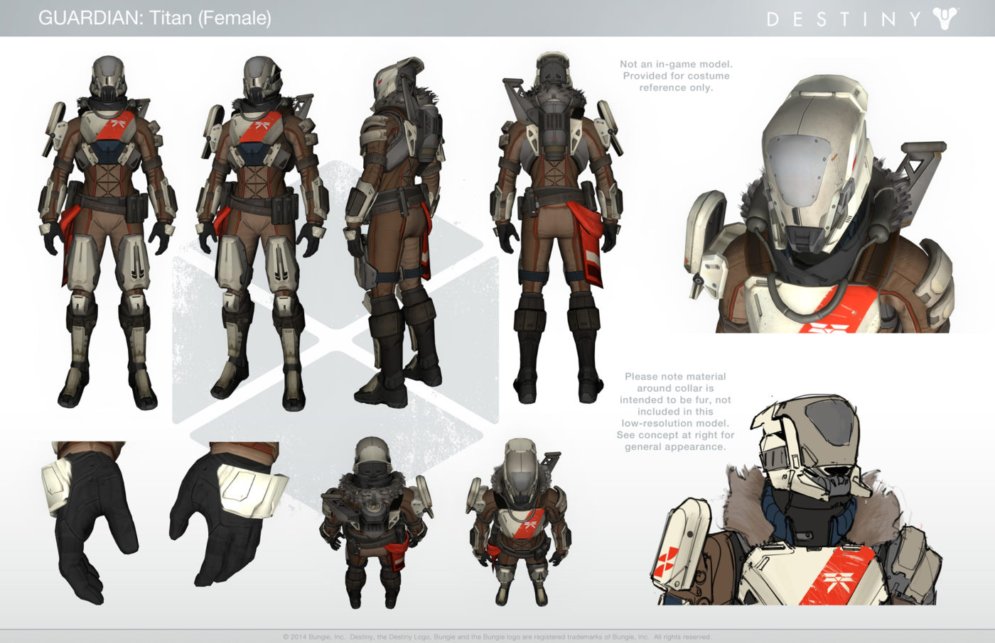 Dress Up As Your Favorite Guardian With This Handy Destiny