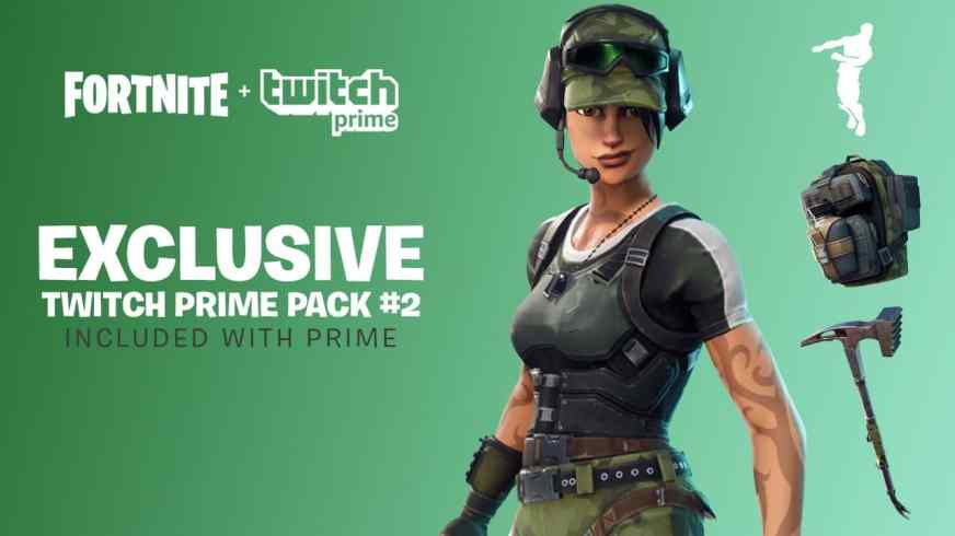 Fortnite New Twitch Prime Skins Available for Amazon Prime ...