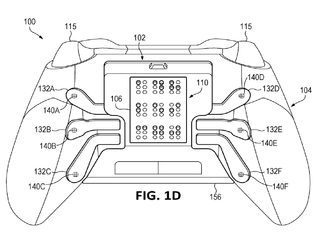 New Xbox Controller With Haptic Braille Output Patented By Microsoft