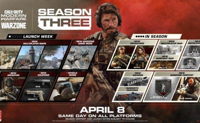 Modern Warfare Season 3 Roadmap And Trailer Released Mp1st