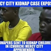 EndTime: Notorious Children Kidnappers/Ritualist Arrested in Prophet Jeremiah Fufeyin's Mercy City Church, Warri, Delta State, Nigeria (Video)