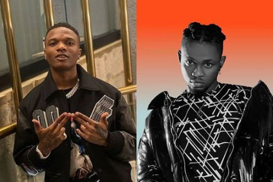 Wizkid hints at a collaboration with Omah Lay