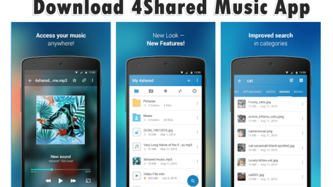 Download 4Shared Music App for Android [2019]