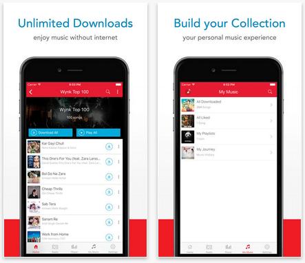 Wynk Music downloads