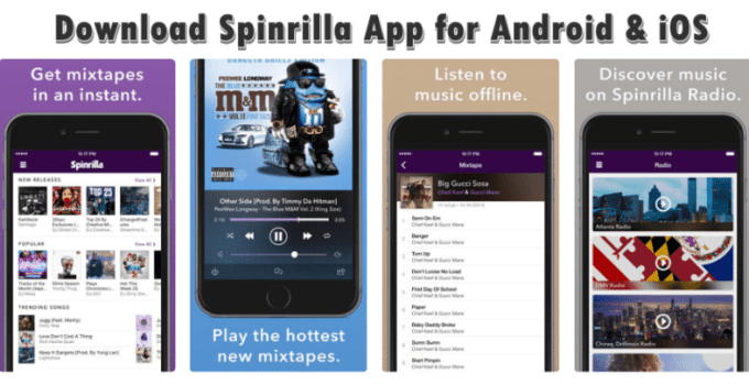 Download Spinrilla App for Android & iOS