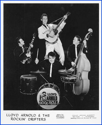 Image result for Lloyd Arnold & His Rockin' Drifters