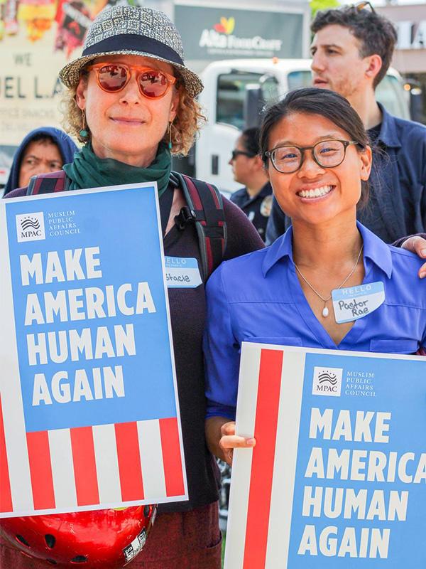 Make America human again