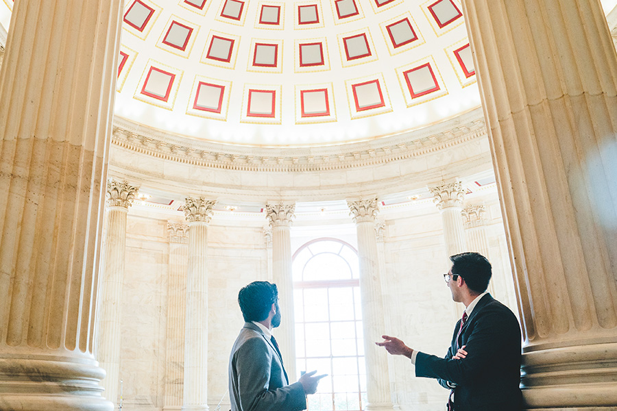 MPAC young leaders inside Capitol Hill