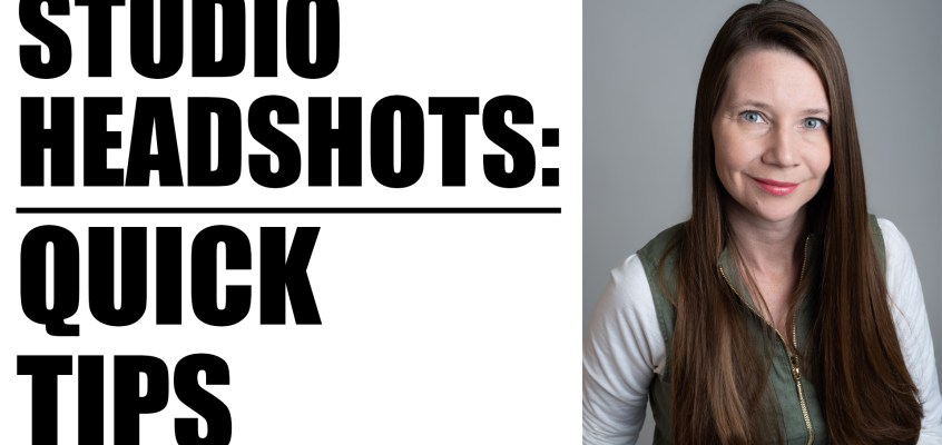 HOW TO SHOOT STUDIO HEADSHOTS | PHOTOGRAPHY TUTORIAL
