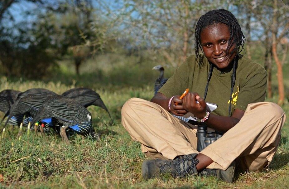 Brenda Nyaguthii field Photo by Kennedy Gitau