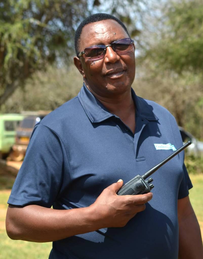 Major Pius Muya Security Manager