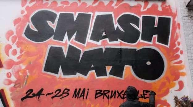 Brussels, Belgium: SMASH NATO