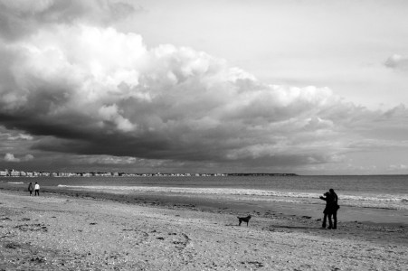 """Un """"chabadabada"""" sur la plage de La Baule ..."""