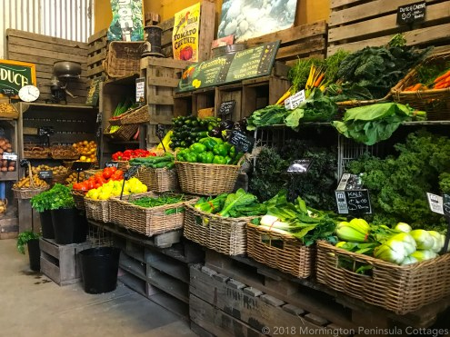 Fresh certified produce from Peninsula Fresh Organics