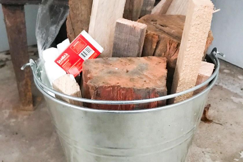 firewood kindling service