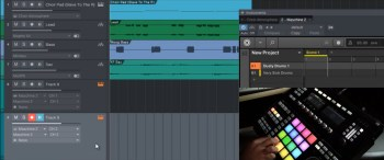 Maschine 2.3 Recording MIDI in PreSonus Studio One 3