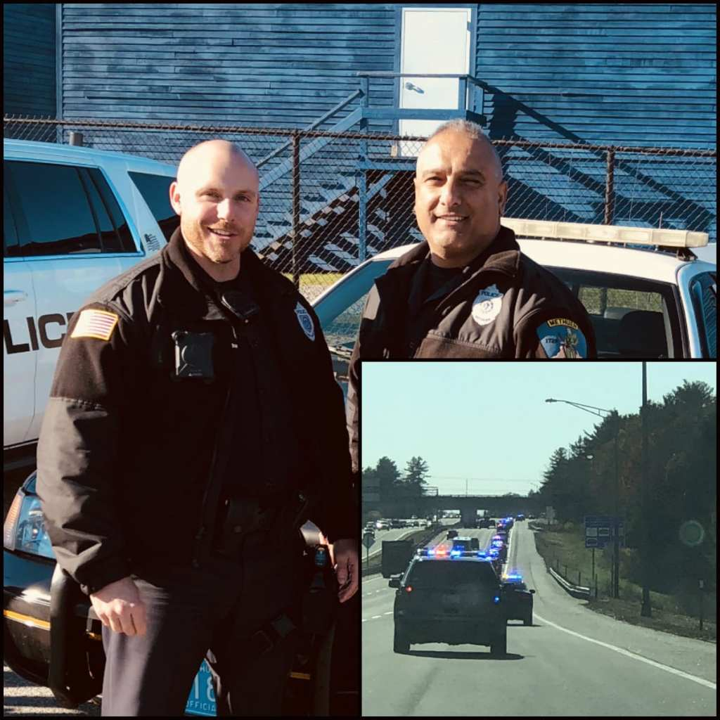 Officers Jeff Smith and Tom Torrisi