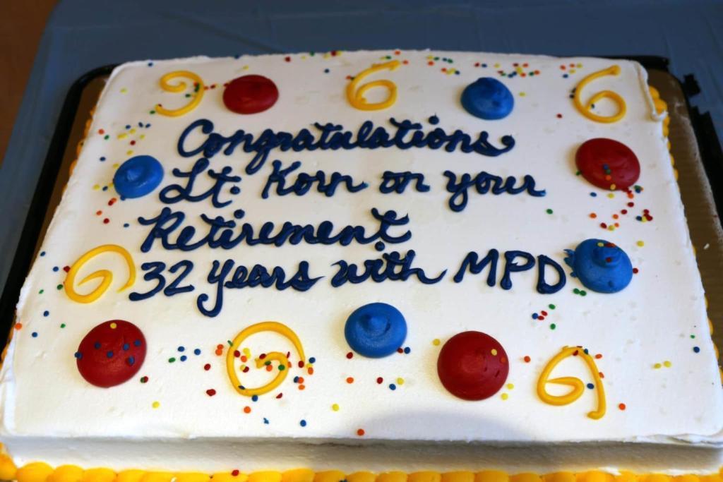 Lt. Korn's cake