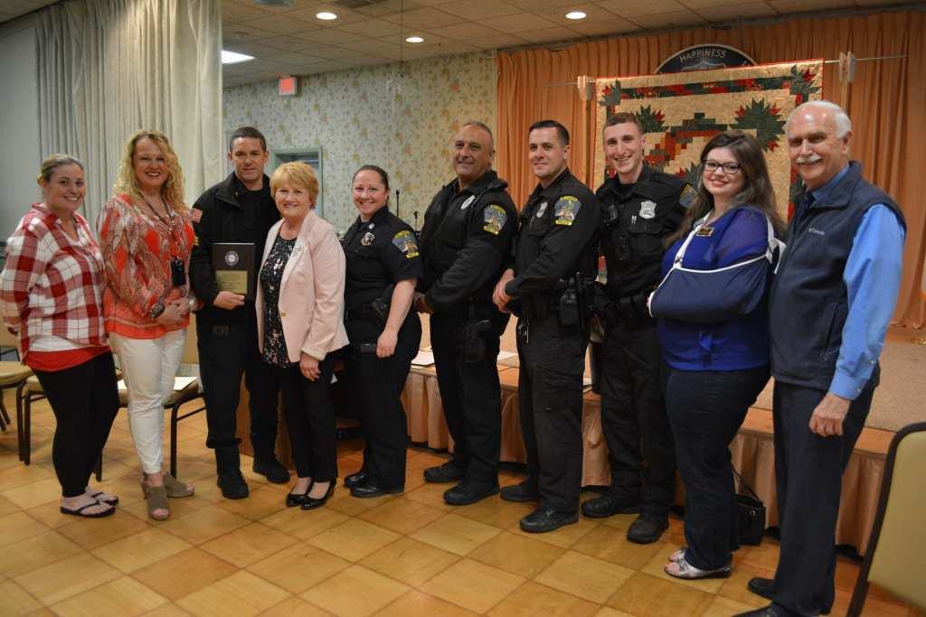 Methuen Police Department Awarded by Senior Center