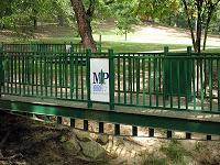 Delwood Park walkway