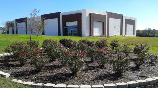 Corner exterior view of building