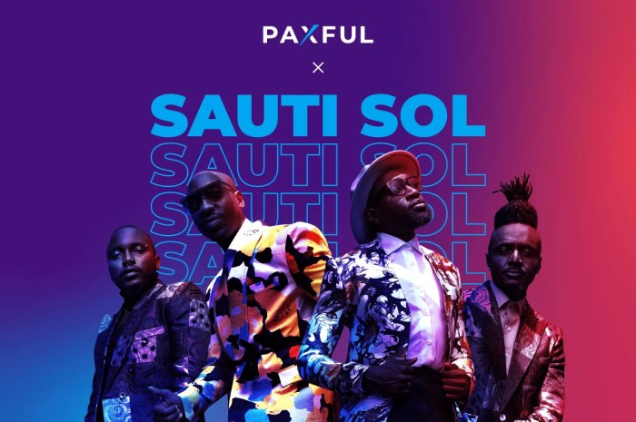 Paxful Joins Forces With Sauti Sol