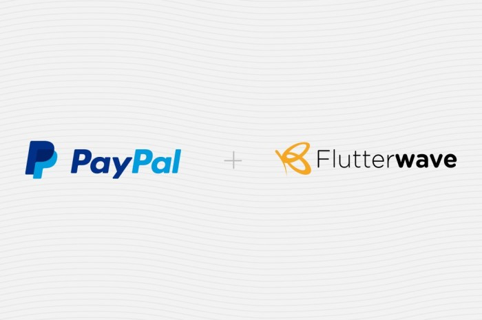 Flutterwave Partners With PayPal to Help African Businesses Receive And Make Payments