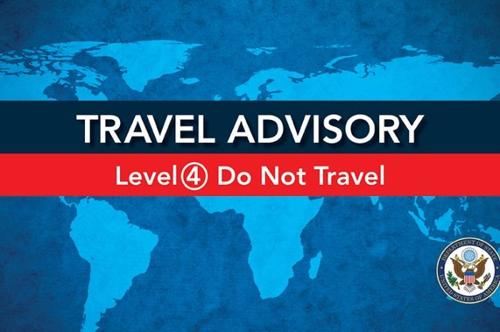 Level 4 Travel Advisory Issued Against Kenya By The United States
