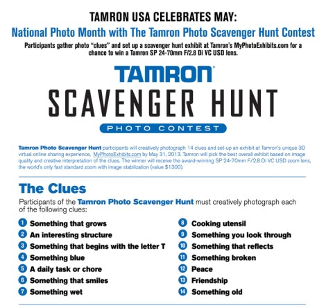 Scanevger Hunt flyer#1