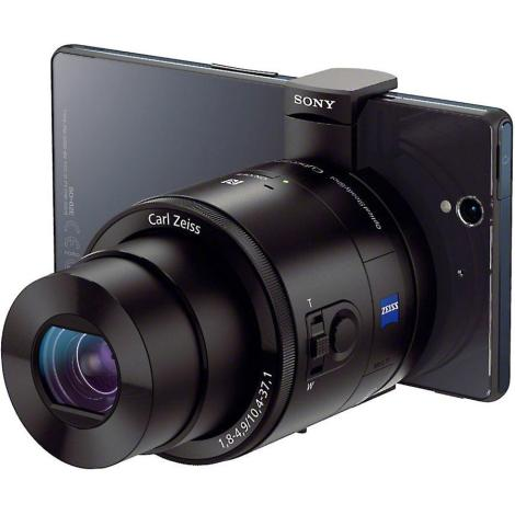 Sony QX100 on a smartphone