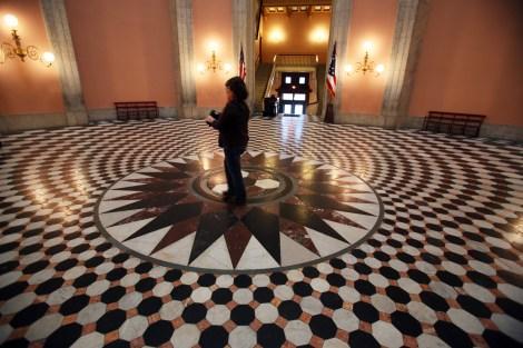 rotunda-floor
