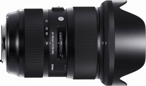 This is the first zoom lens with an f/2 aperture that covers full frame sensors!