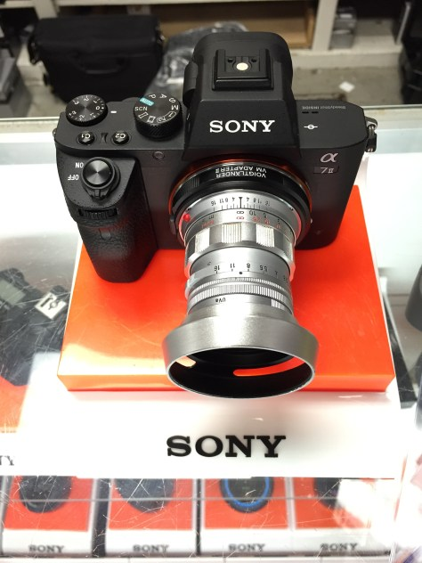 Sony A7II with Leica Summicron  50mm f/2 with an adapter.