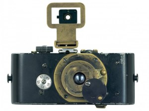 The original 'pocket camera', the Ur-Leica (1914), the first 35mm still camera.