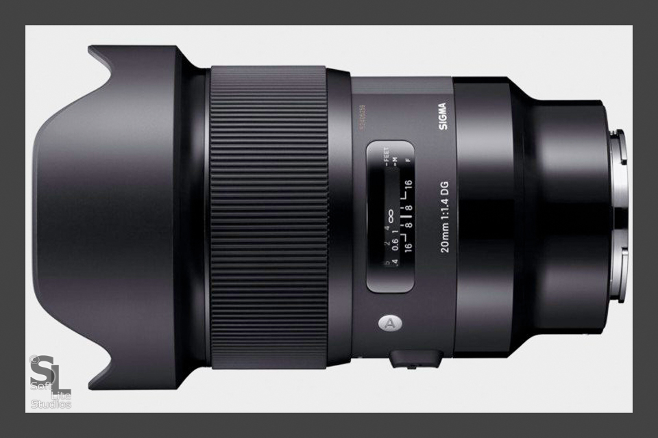 BP-RAM-0307201801-I003 - Sigma Art 20mm f/1.4 for Sony E-mount