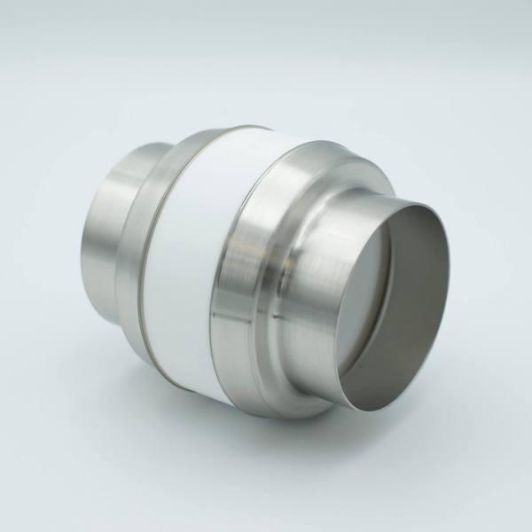 "UHV Break with Ceramic Envelope, 10KV Isolation, 2.37"" Dia Kovar Tube Adapters"