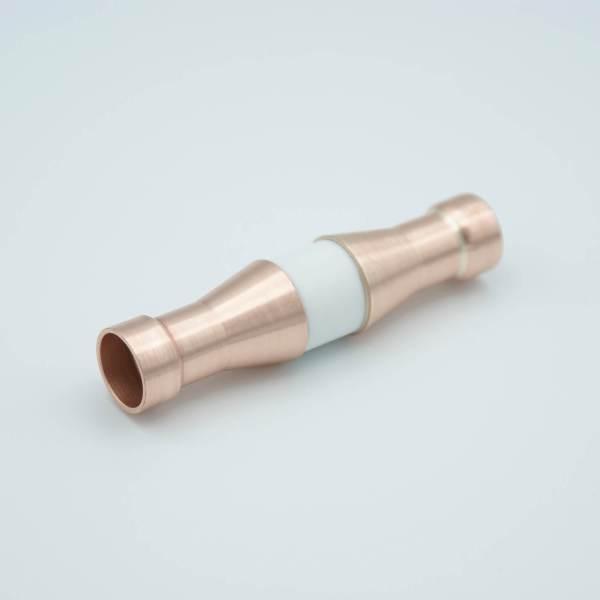 "Liquid Break, 5KV Isolation, 0.59"" Dia Copper Tube Adapters (0.505"" ID Socket)"