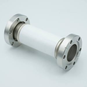 "MPF - A0595-3-CF Ceramic Break, 60KV Isolation, 1.37"" Inner Dia, 2.75"" Conflat Flange"