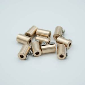 """MPF - A0725-7-CN In-line Connectors, Beryllium-Copper alloy, 0.16"""" Dia Pin, Package of 10"""