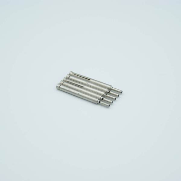 """Push-on Thermocouple Connector, 0.056"""" Dia Pin, Constantan-J, Package of 5"""