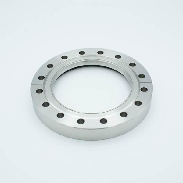 "MPF - A12282-1-CF UV Grade Fused Silica Viewport, Non-Magnetic, 3.88"" View Dia, 6.00"" Conflat Flange ( 316LN )"