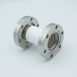 "MPF - A1991-2-CF Ceramic Break, 20KV Isolation, 0.90"" Inner Dia, 2.75"" Conflat Flange"