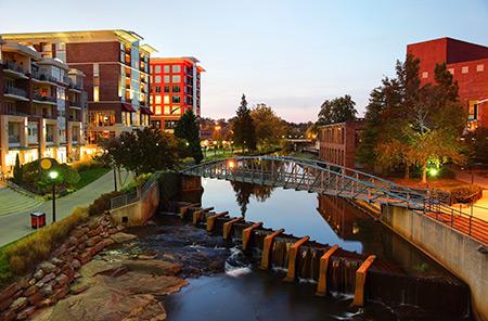 Reedy River, Greenville South Carolina