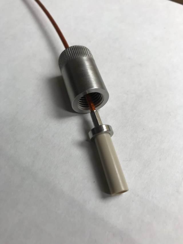 Peek Dielectric Coax Plug