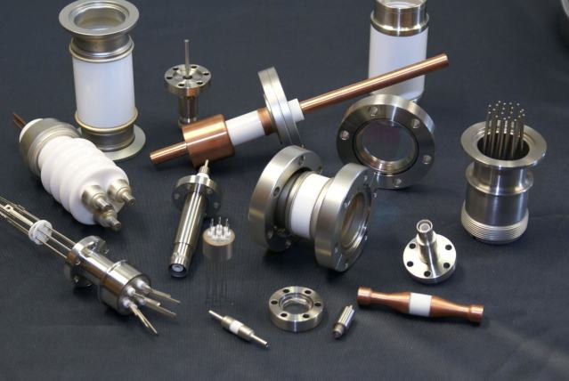 ISO verified components for vacuum chambers