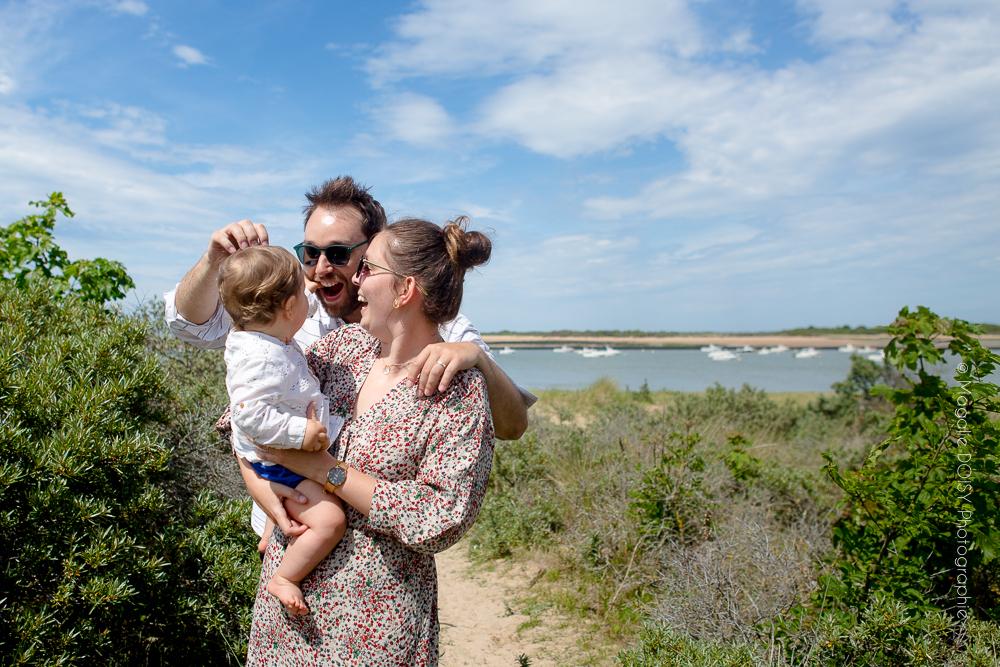 Photographe famille à la mer Ouistreham