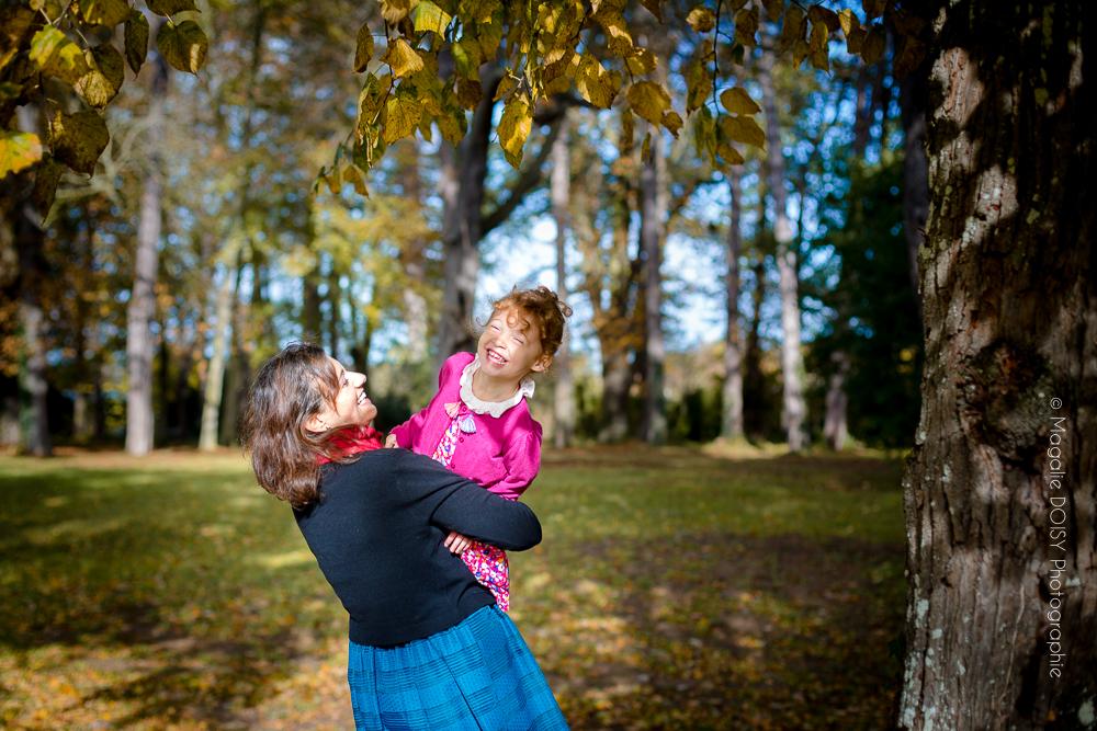 Séance photo mère-fille Domaine de Beauregard